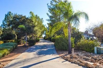 San Diego Country Estates Single Family Home For Sale: 24713 El Sebo