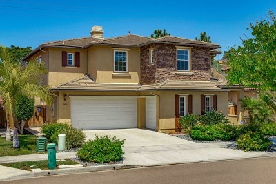 Carlsbad Single Family Home For Sale: 3483 Pleasant Vale