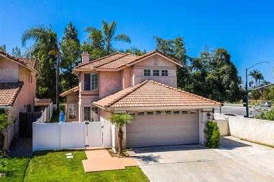 San Marcos Single Family Home For Sale: 1231 Corte Bello