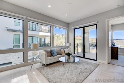 Mission Valley Condo/Townhouse For Sale: 8581 Aspect Dr