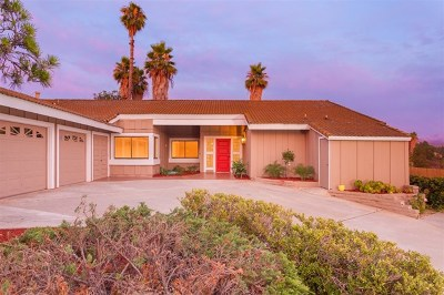 Poway Single Family Home For Sale: 17351 Saint Andrews Drive