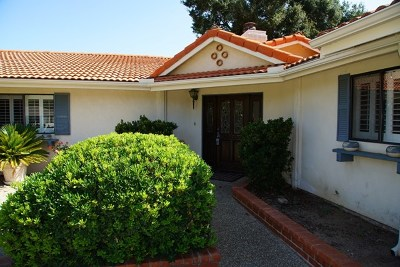 San Diego Country Estates Single Family Home For Sale: 15245 La Plata Crt