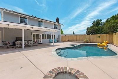 El Cajon Single Family Home For Sale: 8218 Limon Ln