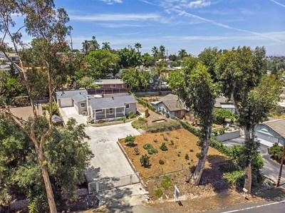 Vista Single Family Home For Sale: 945 Eucalyptus Ave
