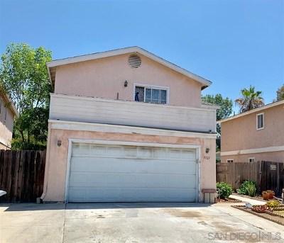 Lemon Grove Single Family Home For Sale: 7721 Danielle Dr