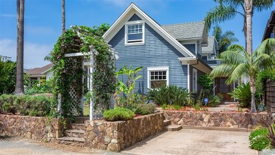 Encinitas Single Family Home For Sale: 714 Cornish Drive