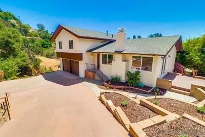 La Mesa Single Family Home For Sale: 9378 Alto