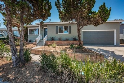 La Mesa Single Family Home For Sale: 9579 Janfred Way