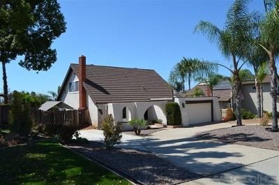El Cajon Single Family Home For Sale: 1666 Granite Hills Dr.