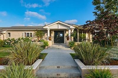 Solana Beach Single Family Home For Sale: 533 Canyon Drive