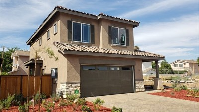 El Cajon Single Family Home For Sale: 740 Lincoln Place