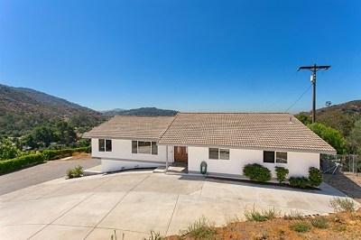 Escondido Single Family Home For Sale: 3620 E Valley Parkway