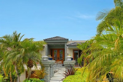 Del Mar Single Family Home For Sale: 13738 Pine Needles