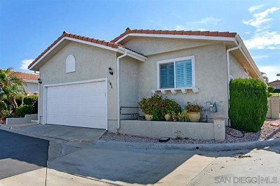 San Marcos Single Family Home For Sale: 2010 W San Marcos Blvd W #101