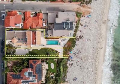 La Jolla Single Family Home For Sale: 7310 Vista Del Mar