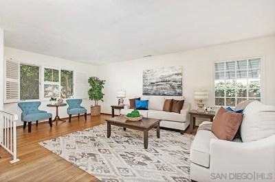 La Mesa Single Family Home For Sale: 8414 El Paso Street