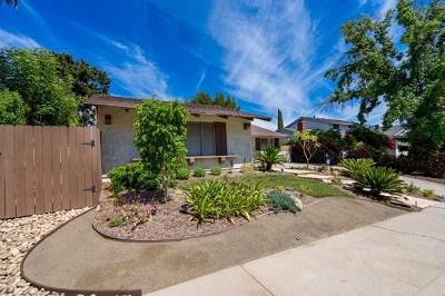 El Cajon Single Family Home For Sale: 1339 Yerba Verde Drive
