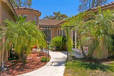 Escondido Single Family Home For Sale: 26138 Wyndemere Ct