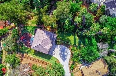 La Mesa Single Family Home For Sale: 9323 Carmichael Drive
