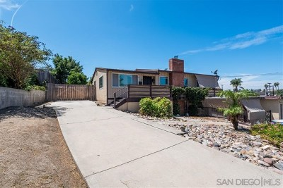 Spring Valley Single Family Home For Sale: 9079 Fitzgerald Way