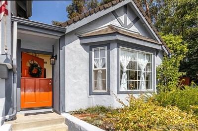 Vista Single Family Home For Sale: 619 Crest Dr