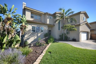El Cajon Single Family Home For Sale: 1728 Horizon Heights Cir