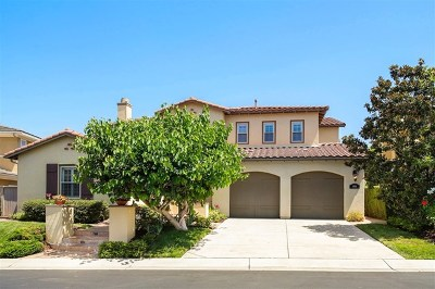 San Marcos Single Family Home For Sale: 804 Genoa Way