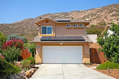 El Cajon Single Family Home For Sale: 307 W Noakes St.