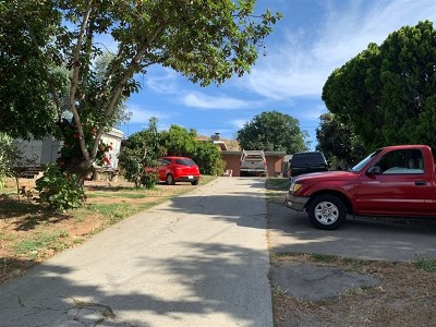 Escondido Single Family Home Active Under Contract