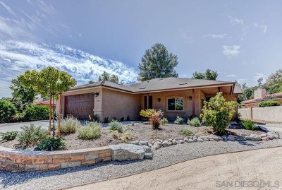 San Diego Country Estates Single Family Home For Sale: 15601 Indian Head Ct