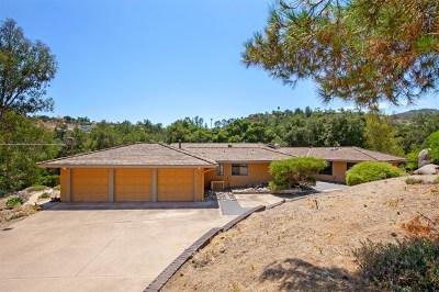 Alpine CA Single Family Home For Sale: $765,000