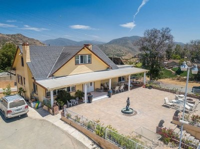 El Cajon Single Family Home For Sale: 2420 Euclid Ave