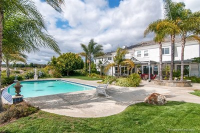 Fallbrook Single Family Home For Sale: 3807 Wendi Ct