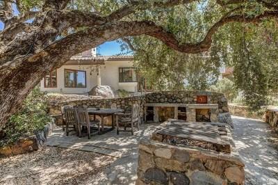 Alpine CA Single Family Home For Sale: $825,000