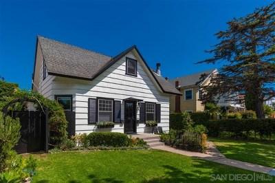 Coronado Single Family Home For Sale: 511 H Avenue