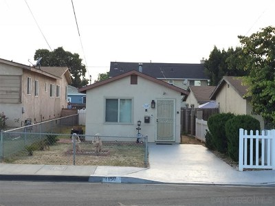 Imperial Beach Single Family Home For Sale: 1150 14th