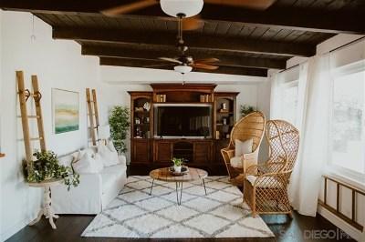 Alpine CA Single Family Home For Sale: $815,000