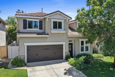 Carlsbad Single Family Home For Sale: 7808 Calle Lomas