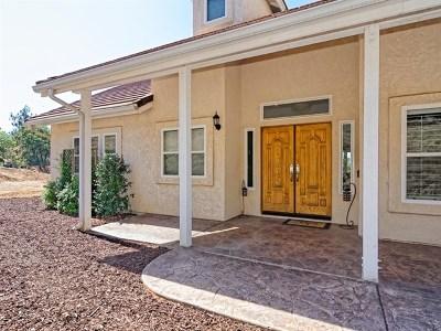 Alpine CA Single Family Home For Sale: $750,000