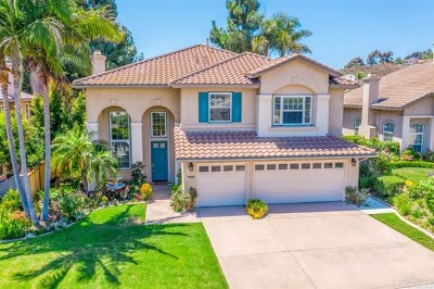 Carlsbad Single Family Home For Sale: 7329 Black Swan Pl