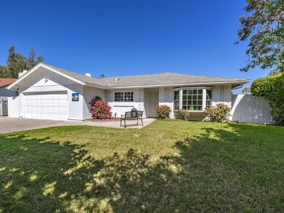 Oceanside Single Family Home For Sale: 3011 Camarillo