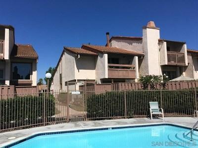 La Mesa Condo/Townhouse For Sale: 5359 Aztec Dr #30