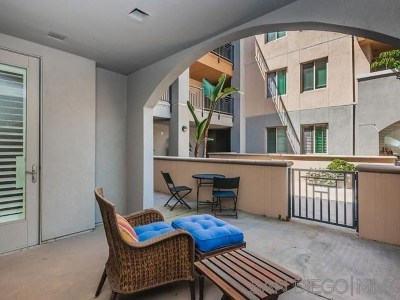 San Diego County Condo/Townhouse For Sale: 3887 Pell Place #125