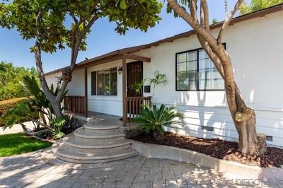 La Mesa Multi Family Home For Sale: 4139 Blackton Dr