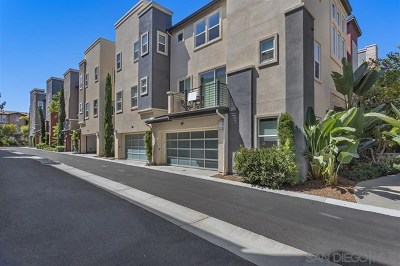 Mission Valley Condo/Townhouse For Sale: 7833 Inception Way