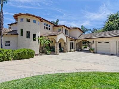 La Mesa Single Family Home For Sale: 10382 Sierra Vista Avenue