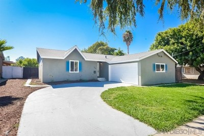 San Diego County Single Family Home For Sale: 524 Ruxton Ave