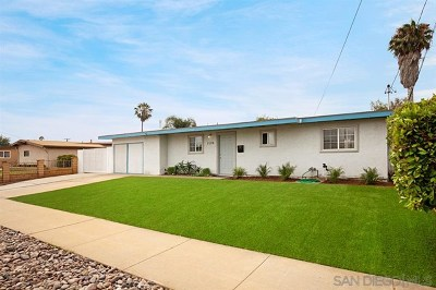 Imperial Beach Single Family Home For Sale: 1119 Hemlock Avenue