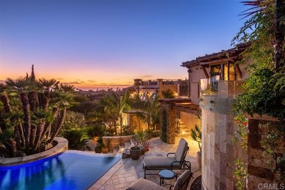 Encinitas Single Family Home For Sale: 1864 Crest Drive