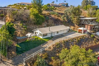El Cajon Single Family Home For Sale: 12408 Janet Kay Way